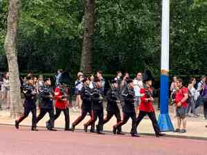 Royal Changing of the Guard at St. James Palace