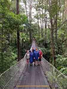 Hanging Bridges of Costa Rica