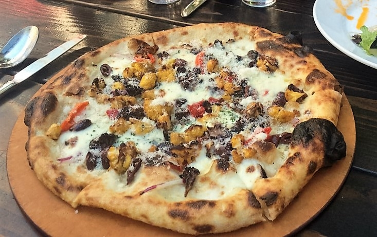 oven and shaker pizza