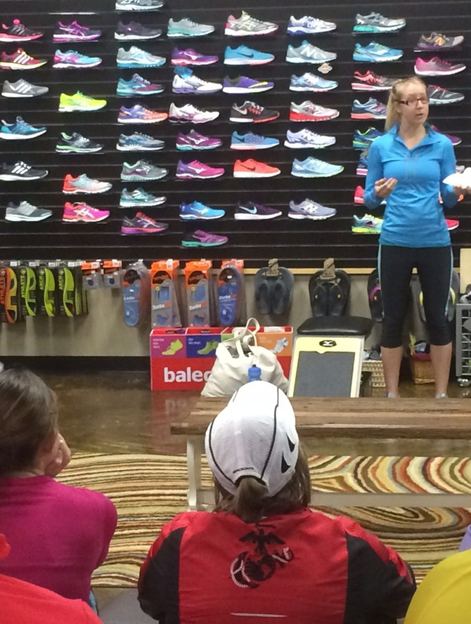 Sports Nutrition Talk for Runners and Last Week's Workouts
