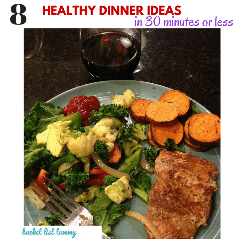 Healthy Dinner Recipes Under 3: 8 Healthy Dinners In 30 Minutes Or Less