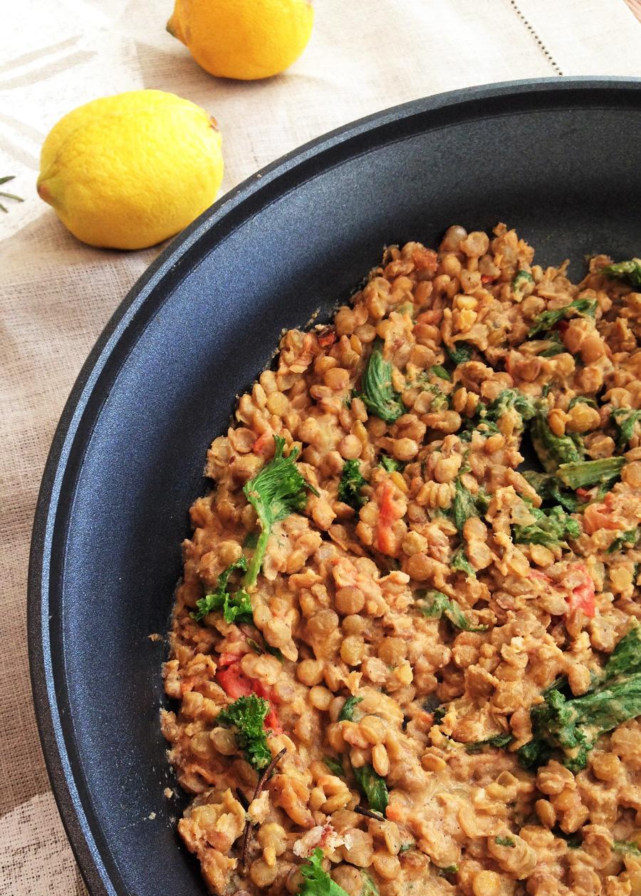 Lemon Tahini Lentil Dip, Lentil Dishes