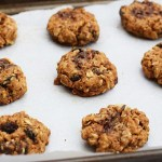 Oatmeal Raisin Peppermint Cookies