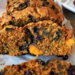 Blueberry Sweet Potato Bread