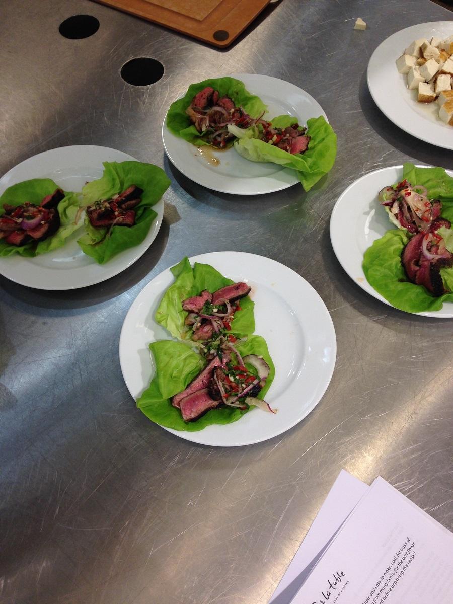 Spicy Beef, Sur la Table