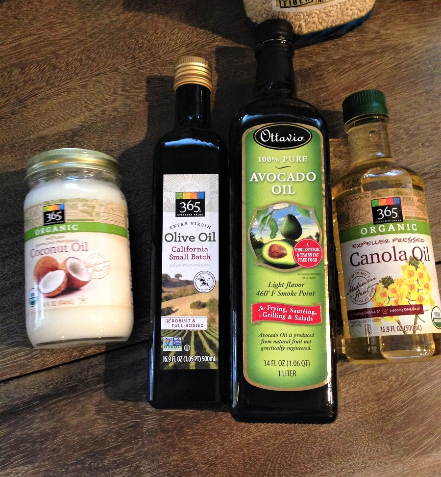oils pantry staples