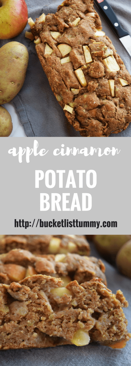 Apple Cinnamon Potato Bread, Potato Bread