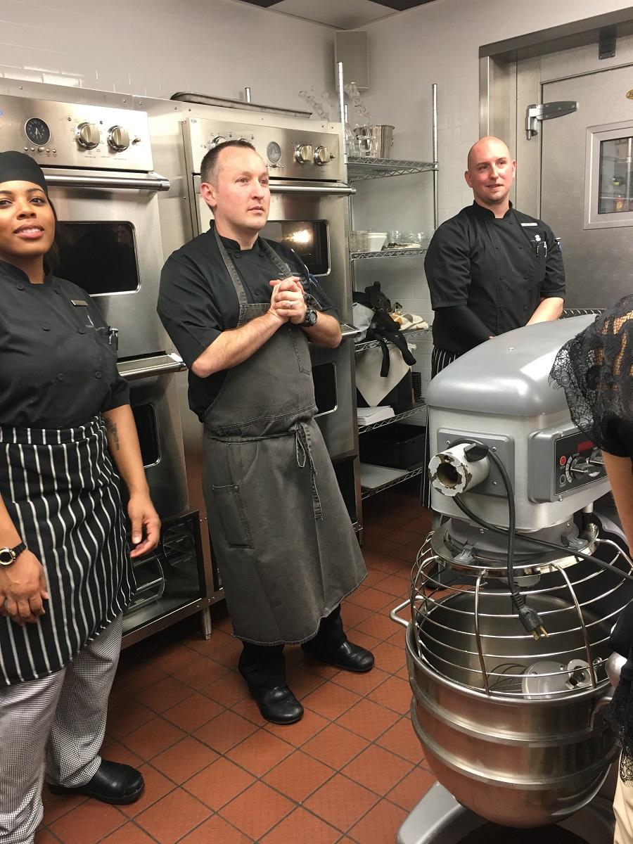 Cooking Class, Ritz Carlton