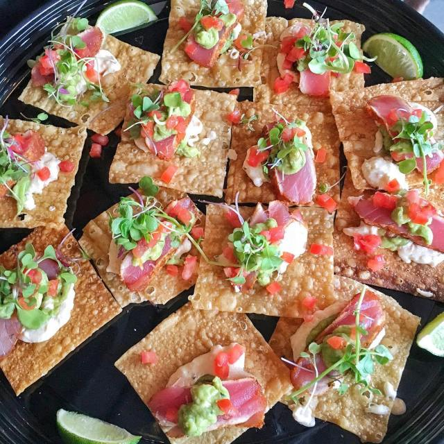 Wanting more of these ahi tuna nachos from thecowfishsbb whohellip