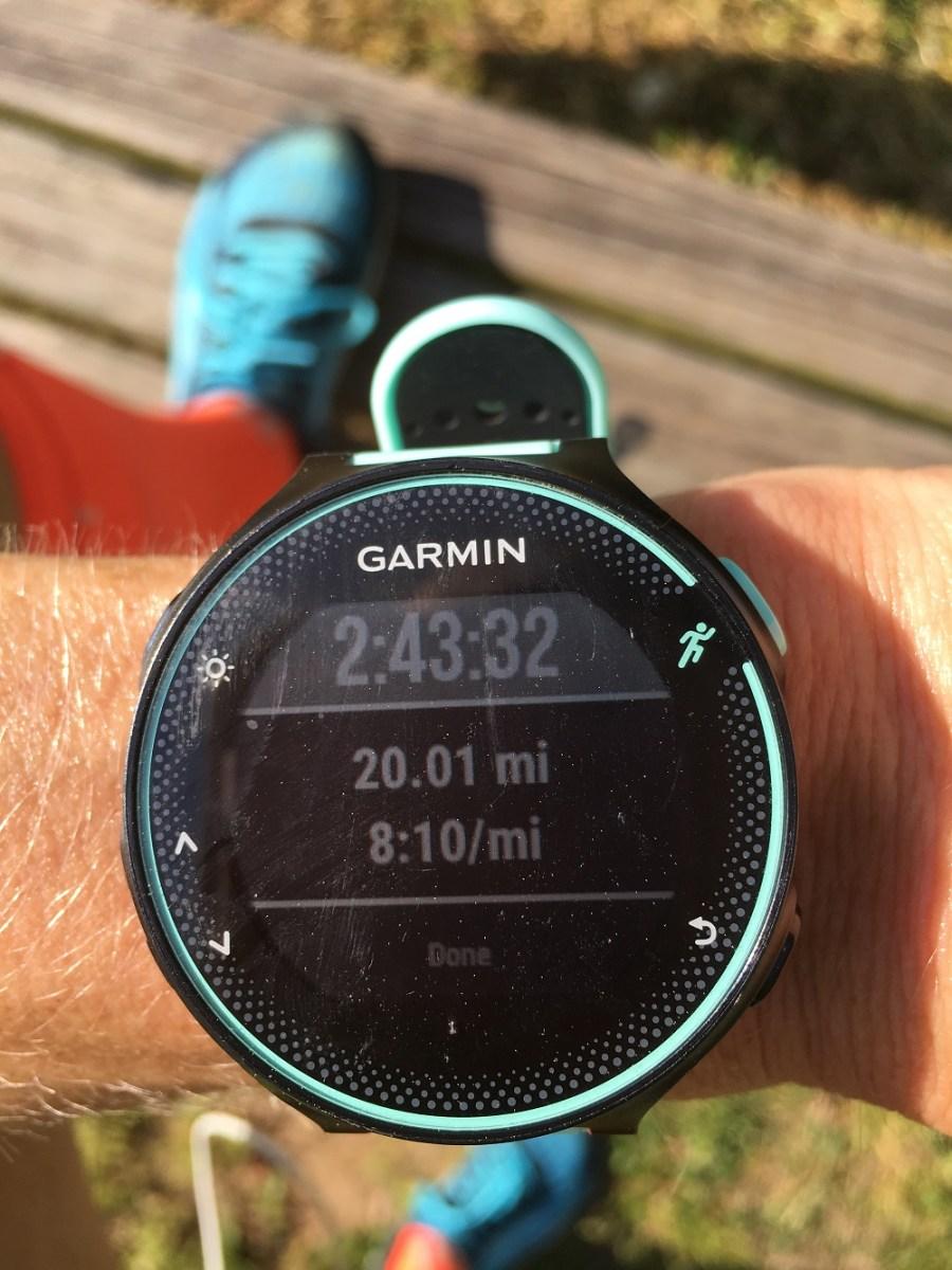 How I fuel for 20 miles, 20 miles, Ogden Marathon