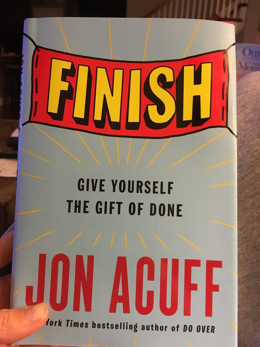 Finish, the gift of done