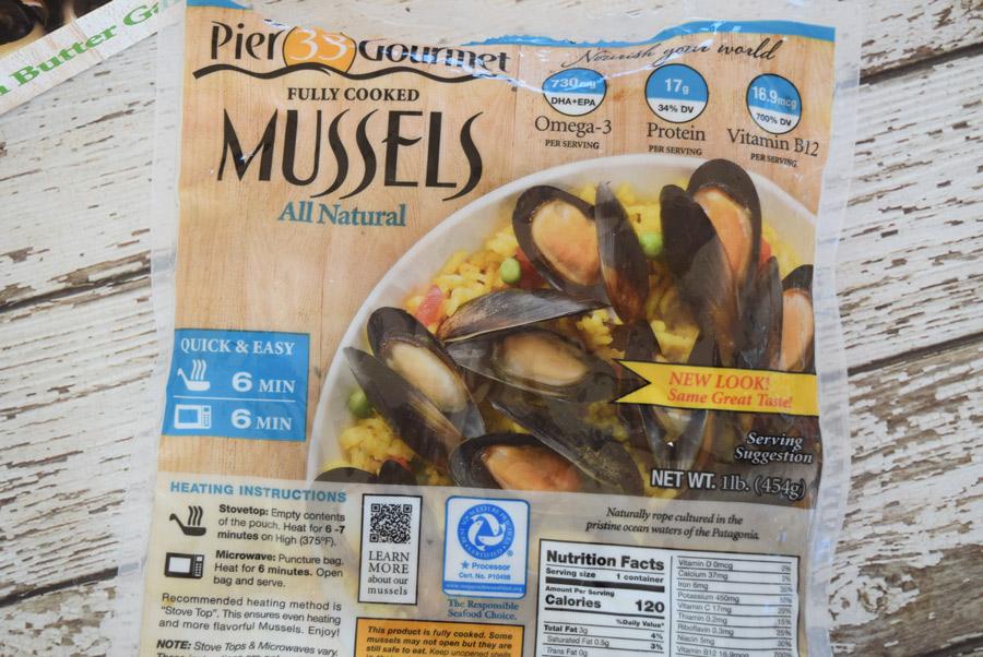 Pier 33 mussels
