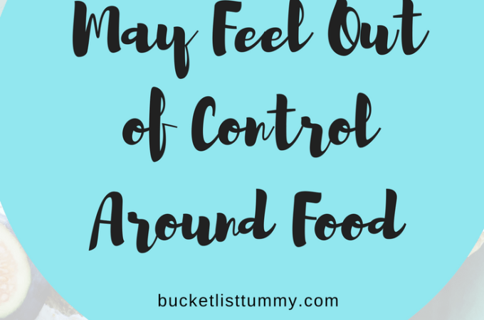 Reasons you may feel out of control around food
