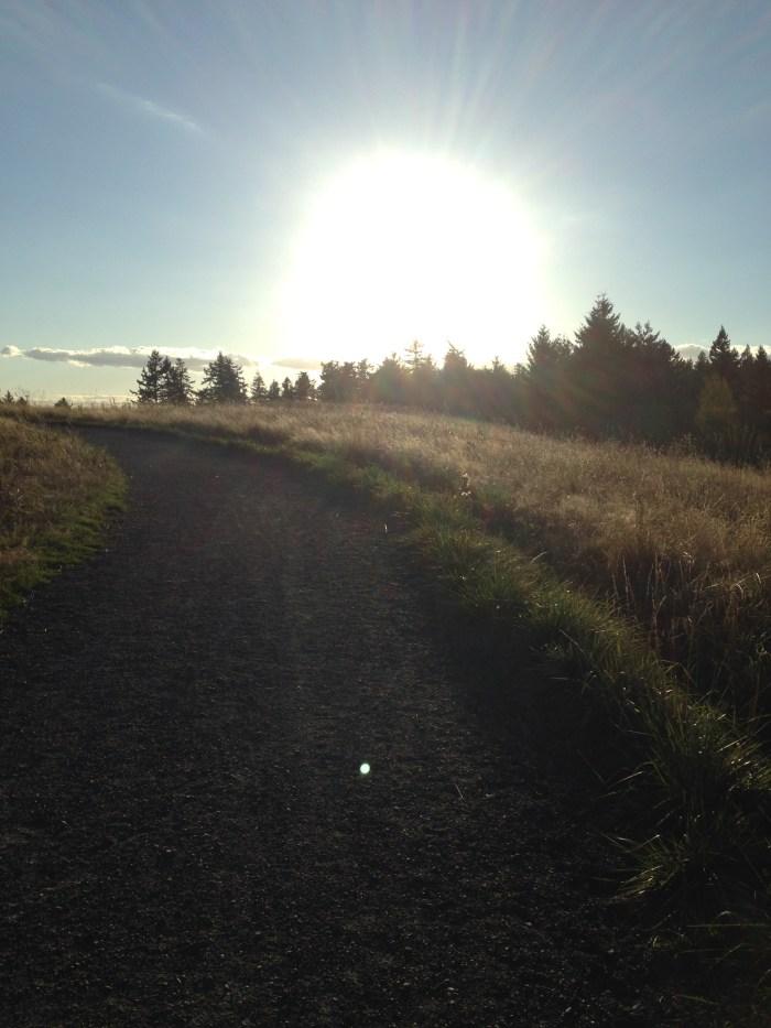 Running_Powell Butte