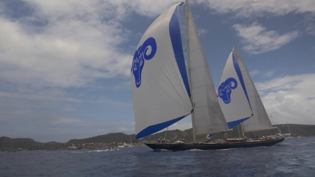 19 March 2017 Highlights of the St. Barths Bucket Regatta