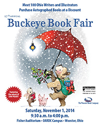 2014 Buckeye Book Fair Brochure Cover