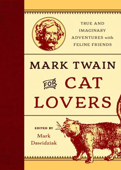 book cover Mark Twain for Cat Lovers