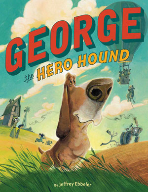 Book cover- George the Hero Hound