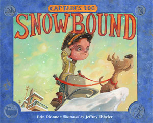 Book cover- Captain's Log Snowbound