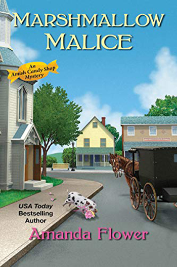 Book Cover - Marshmallow Malice