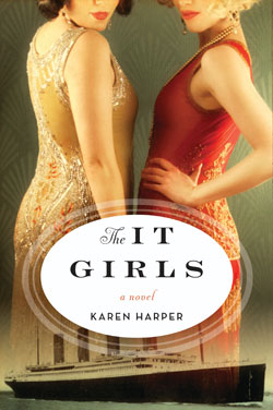 Book cover - The It Girls