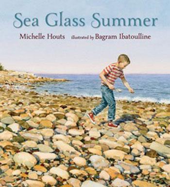 Book cover- Sea Glass Summer