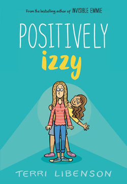 book cover- Positively Izzy