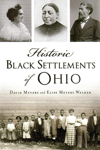 Book cover- Historic Black Settlements of Ohio