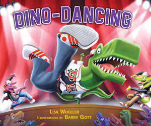 Book cover Dino Dancing