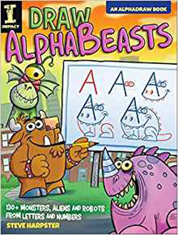book cover Draw Alphabeasts