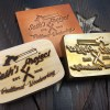 Seth's project logo torch style branding iron by Buckeye Engraving stamps wood stamps leather