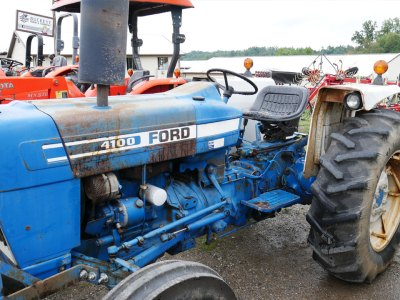 Used 4100 Ford Tractor