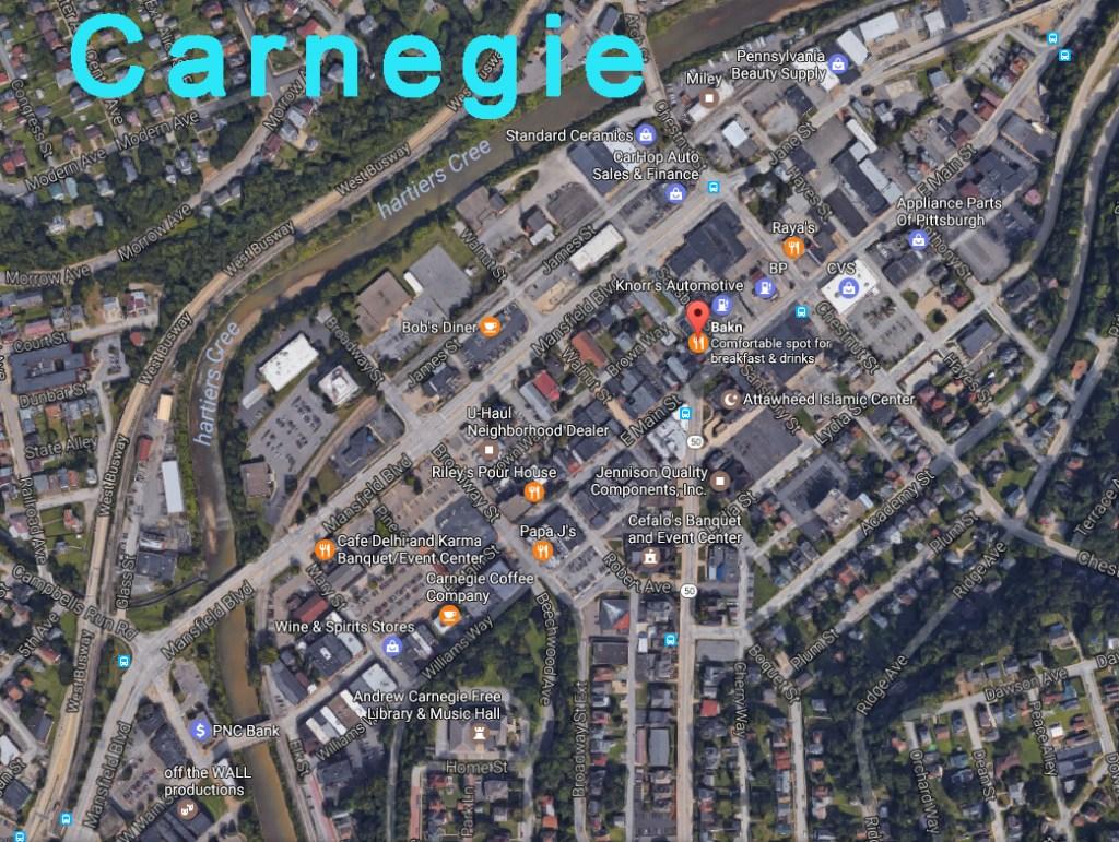 Carnegie Main Street Tour