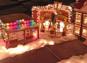 Buckeye Valley News and La Placita Cafe in miniature