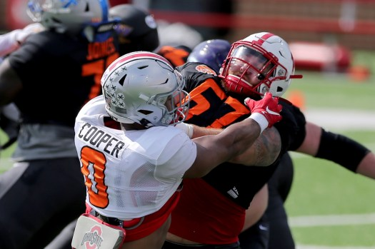 PHOTOS: Ohio State players at the Reese's Senior Bowl ...