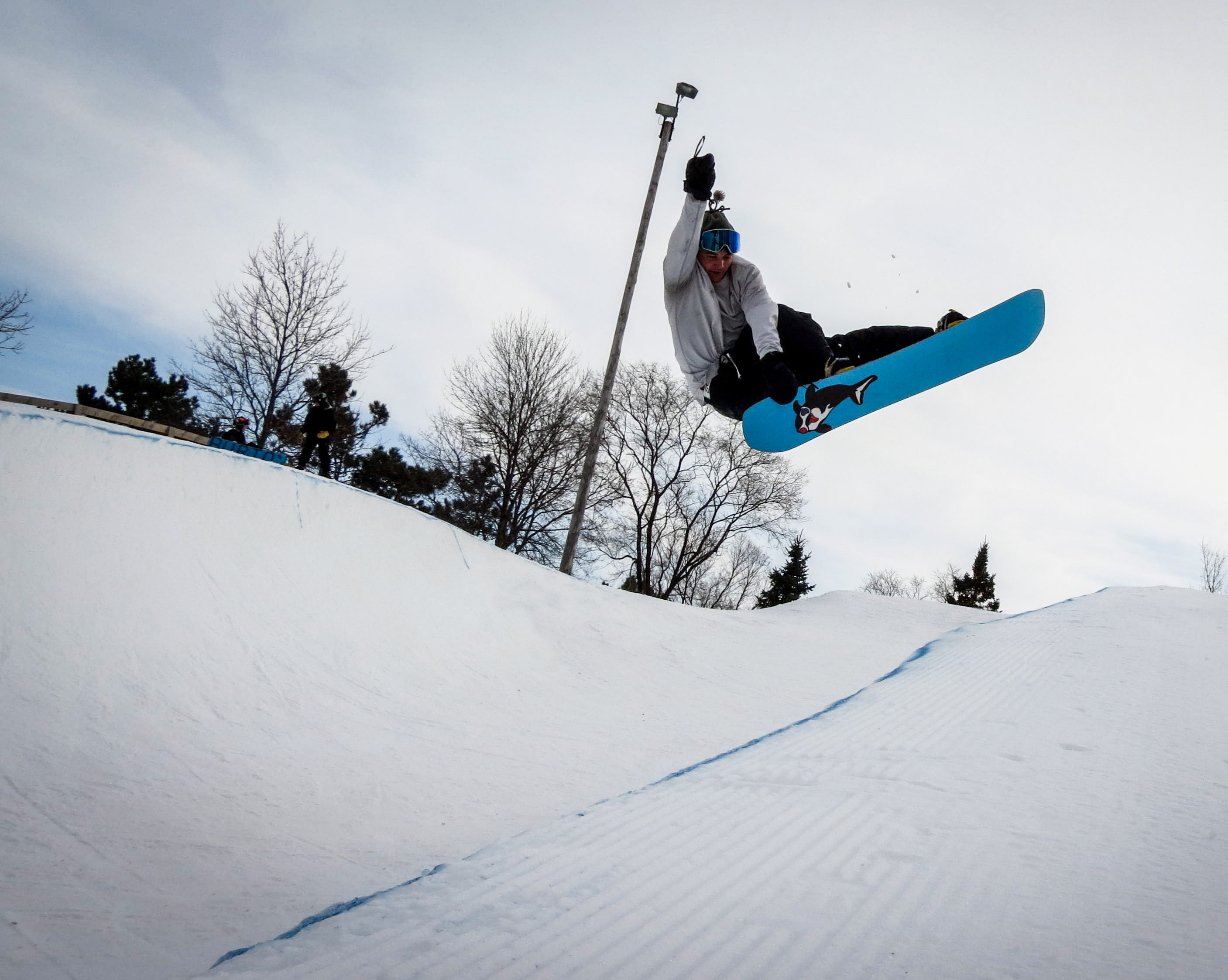 Halfpipe at Buck Hill