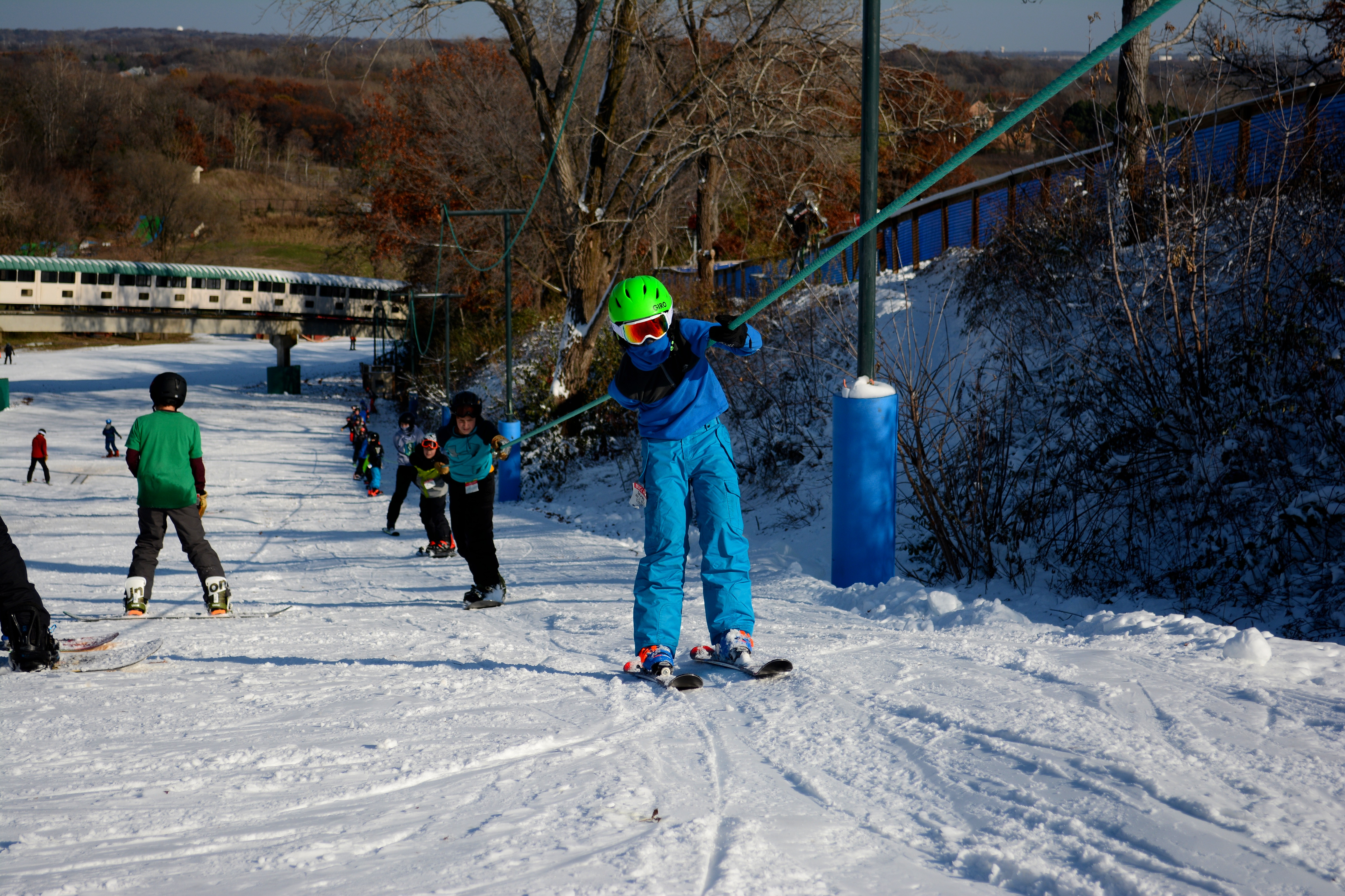 Tow Rope Skiing Buck Hill