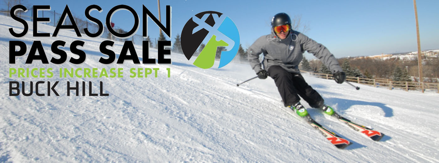 Buck Hill Season Pass Sale Header