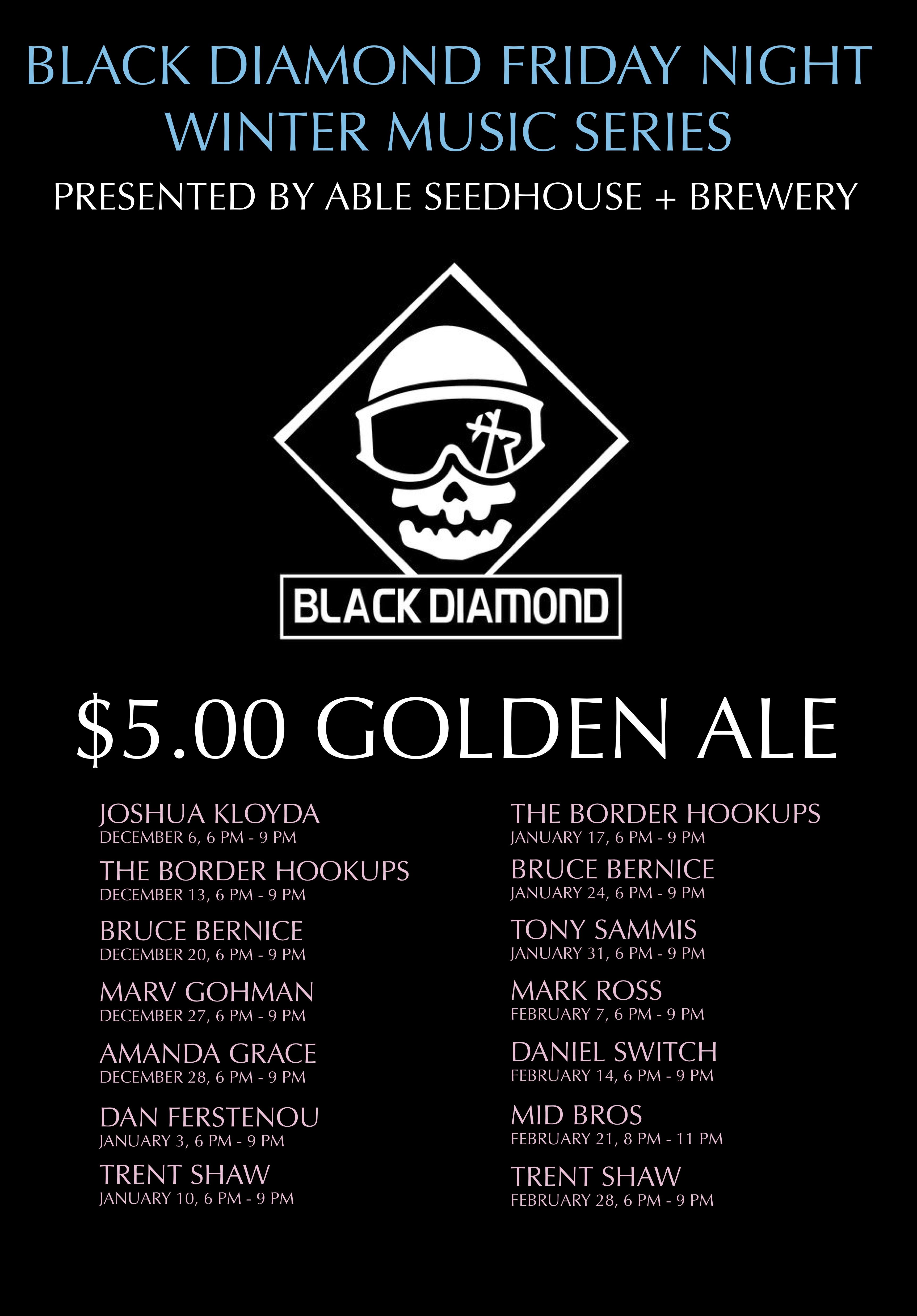 Black Diamond WINTER Posters $5