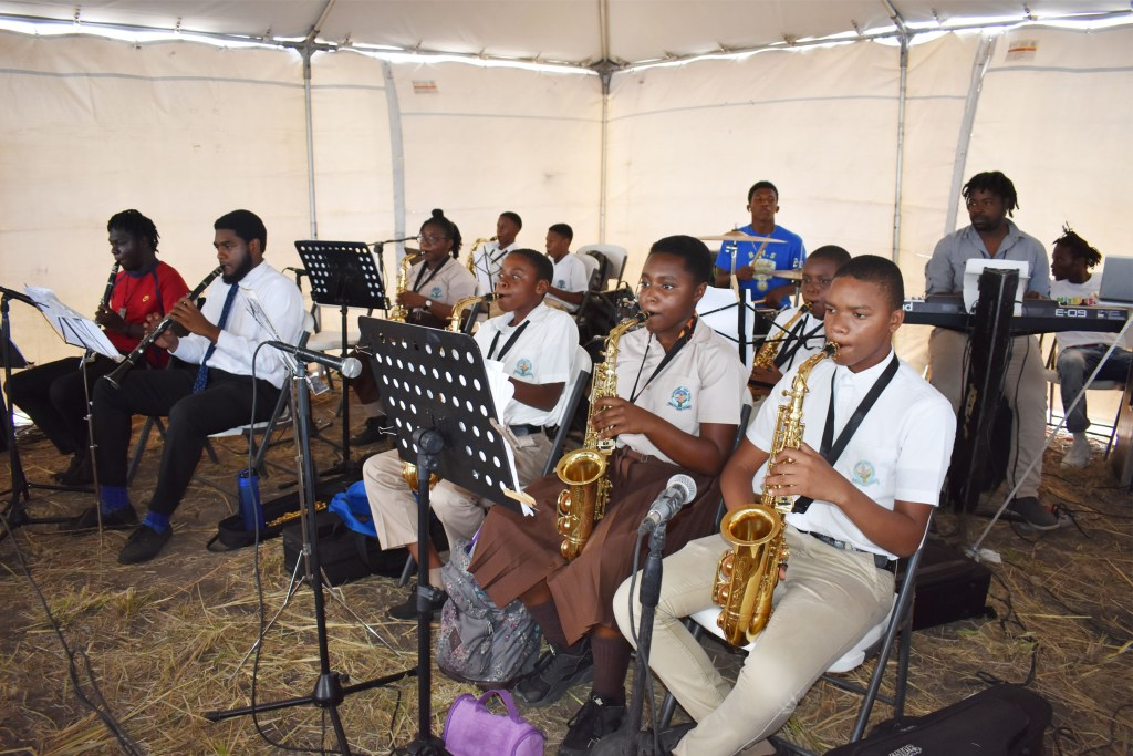 New Basseterre High School gives Team Unity Administration