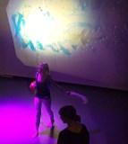 The Seagull's Dream performance: Hannah and Elaine