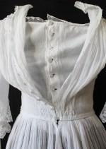 Edwardian Tiered Muslin Dress from  www.buckinghamvintage.co.uk