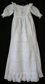 antique christening gown www.buckinghamvintage.co.uk