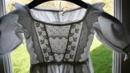 bodice of antique christening gown www.buckinghamvintage.co.uk