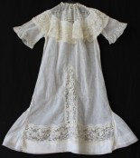 Antique christening gown / baptism dress from www.buckinghamvintage.co.uk