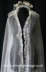 Antique Victorian Veil from www.buckinghamvintage.co.uk