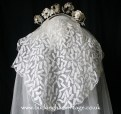 Antique Victorian Veil from www.buckinghamvintage.co.uk