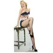 Marilyn Monroe in her stockings www.buckinghamvintage.co.uk