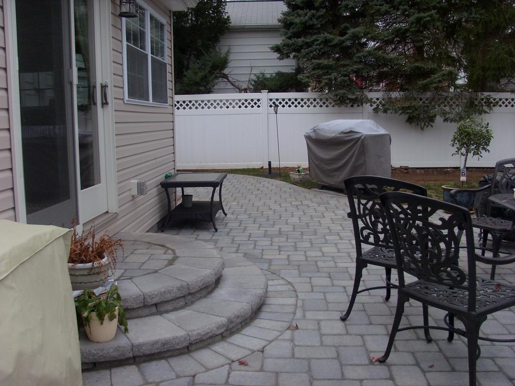 view paver patio steps pics