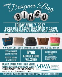 MWA Announces 3rd Annual Designer Bag Bingo with a Luxury ...